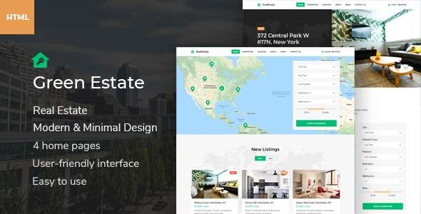 Green Estate - Multipurpose HTML Template - Business Corporate