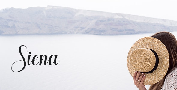 Siena - Personal Blog PSD Template - Personal Photoshop