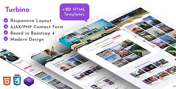 Turbino  - Tour & Travel Listing HTML Template - Travel Retail
