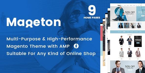 MAGETON - AMP Magento 2 Theme - Magento eCommerce