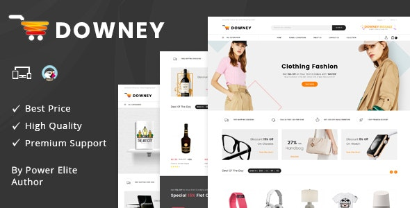 Downey - Responsive Prestashop 1.7 Theme - Shopping PrestaShop