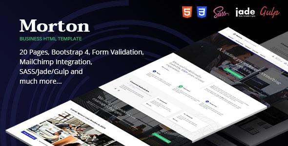 Morton Business & Corporate HTML Template - Business Corporate
