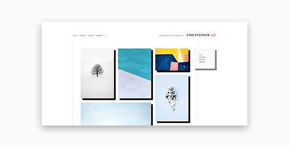 Christopher - Portfolio & Photography WordPress Theme - Photography Creative
