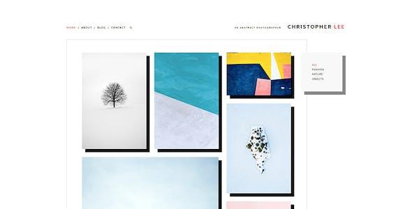Christopher - Portfolio & Photography WordPress Theme
