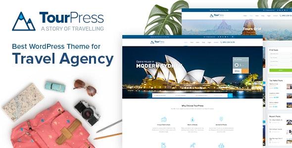 TourPress - Travel Booking WordPress Theme - Travel Retail