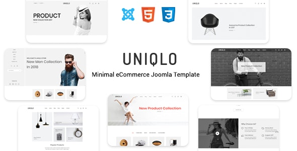 Uniqlo - Responsive Joomla Template - Fashion Retail