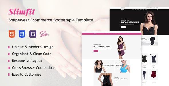 Slimfit - Shapewear HTML Template