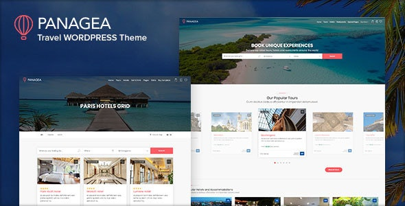 Panagea - Hotel and Tours Booking WordPress Theme - Travel Retail