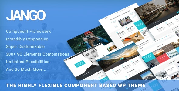 Jango | Highly Flexible Component Based WP Theme - Business Corporate