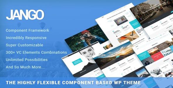 Jango | Highly Flexible Component Based WP Theme