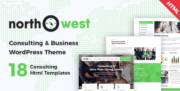 Northwest - Consulting HTML Template