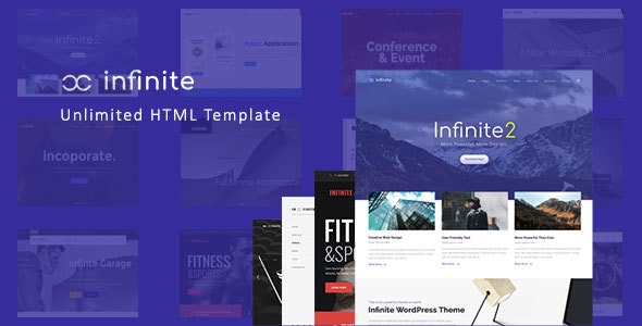 Infinite - Responsive Multi-Purpose HTML Template - Creative Site Templates