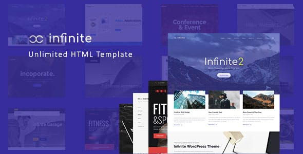 Infinite - Responsive Multi-Purpose HTML Template