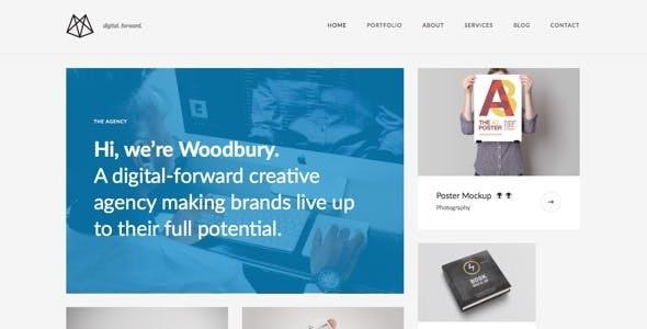 Woodbury Agency - Drupal 8 Business Portfolio Theme - Portfolio Creative
