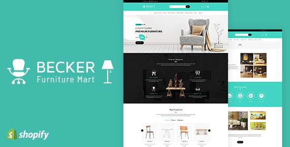 Becker Sectioned Furniture Lights Shopify Theme By Buddhathemes
