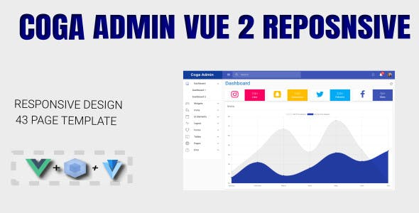 Vuetify Website Templates from ThemeForest