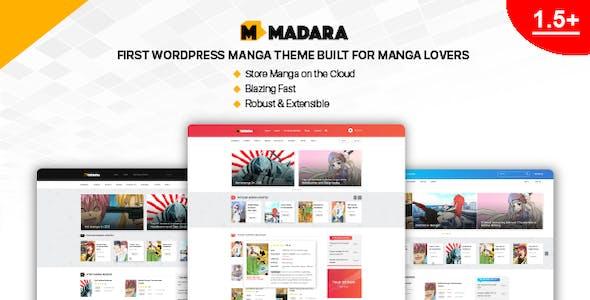 Madara - WordPress Theme for Manga