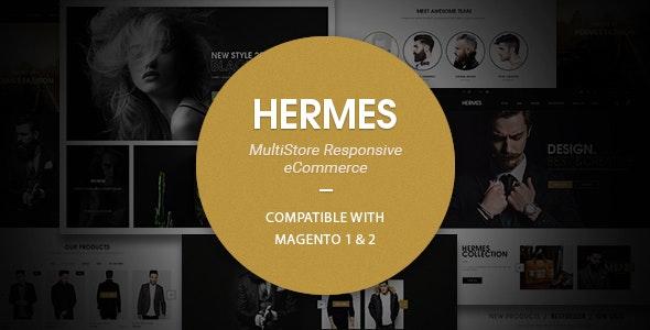 Hermes - Multi-Purpose Premium Responsive Magento 2 & 1 Theme by Blueskytechco