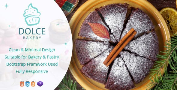 Dolce - Bakery HTML Template