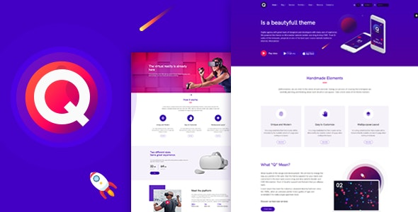 Quality - Modern and Technology HTML5 Template - Creative Site Templates