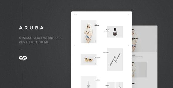 Aruba - Minimal Ajax WordPress Portfolio Theme - Portfolio Creative