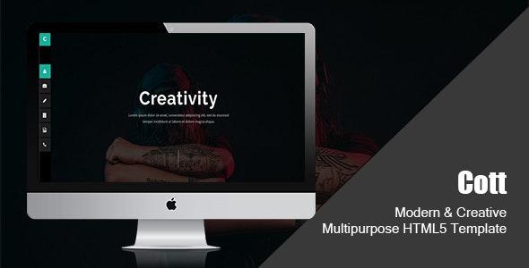 Cott-Modern & Creative Multipurpose HTML5 Template - Creative Site Templates