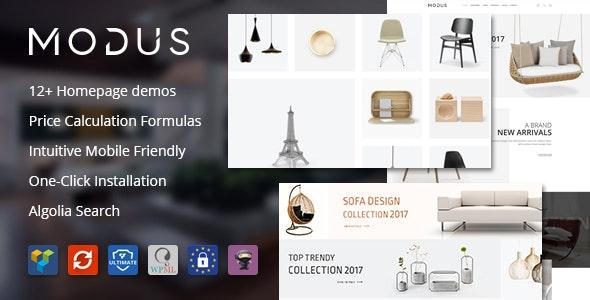 Modus - Modern Furniture WooCommerce Theme - WooCommerce eCommerce