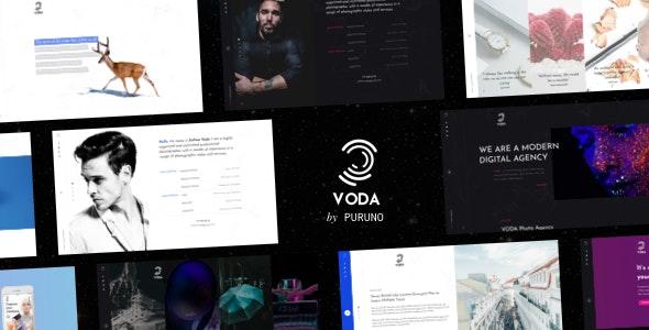 Voda - Drag & Drop Creative WordPress Portfolio - Creative WordPress