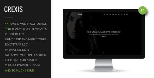 Crexis | Multi-Purpose One & Multi Page Theme - Creative Site Templates