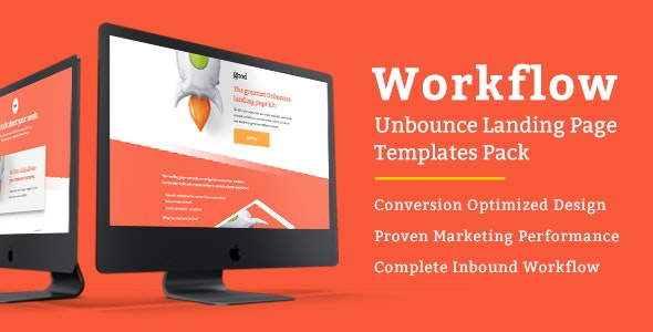 Workflow - Unbounce Landing Page Templates Pack - Unbounce Landing Pages Marketing
