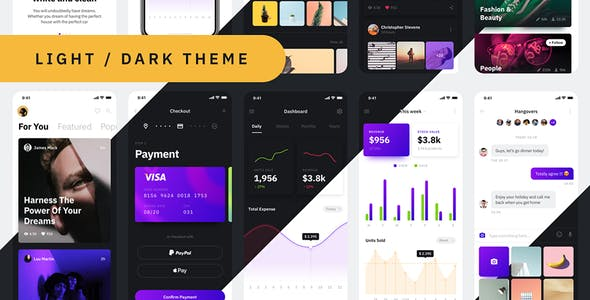 Xiao Mobile UI Kit for Sketch