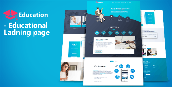 Education - Educational Landing page - Landing Pages Marketing