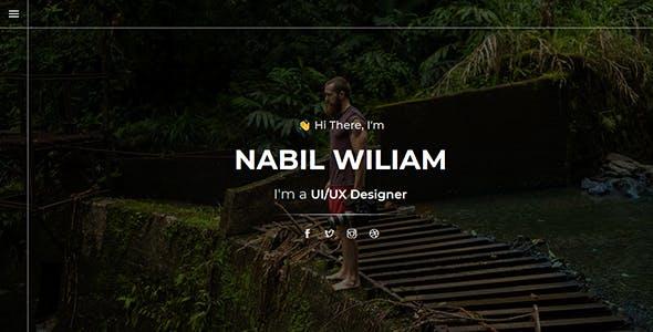 Niz - Creative Personal Portfolio