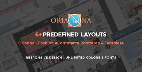 Orianna - Fashion Store HTML Template - Fashion Retail