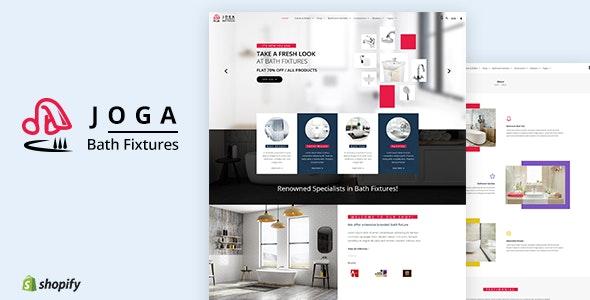 Joga | Bath Fittings Shopify Theme - Shopify eCommerce