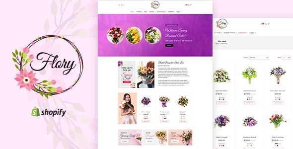 Flory | Florist, Flower Bouquet, Gifts Shopify Theme - Shopify eCommerce
