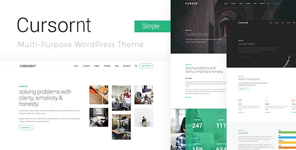 Cursornt - Responsive WordPress Theme - Business Corporate