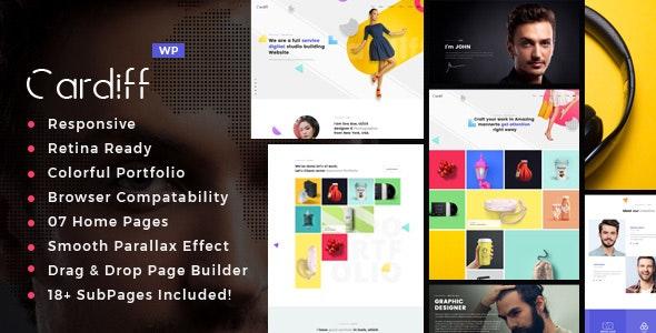 Cardiff - Multipurpose Portfolio Theme - Portfolio Creative