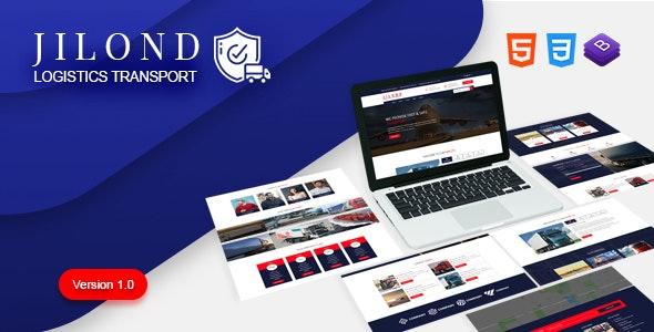 Jilond - Transportation and Logistics HTML5 Template - Business Corporate