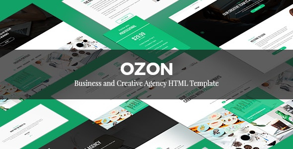 OZON – Business and Creative Agency HTML Template - Creative Site Templates