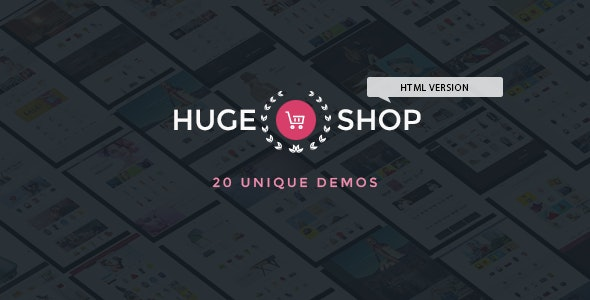 HugeShop - Multipurpose Store eCommerce HTML Template - Shopping Retail