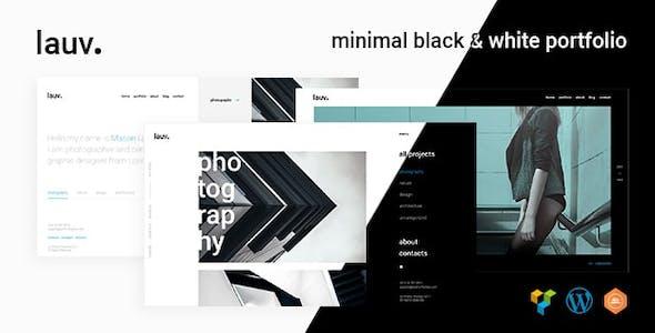 Lauv - Trendy Portfolio WordPress
