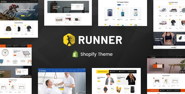 Runner - Sectioned Multipurpose Shopify Theme - Miscellaneous Shopify