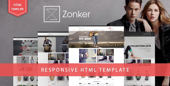 Zonker - Fashion eCommerce Bootstrap 4 Template