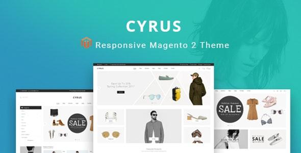 Cyrus - Magento 2 Responsive Theme - Shopping Magento