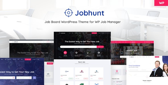 Jobhunt - Job Board WordPress theme for WP Job Manager - Directory & Listings Corporate