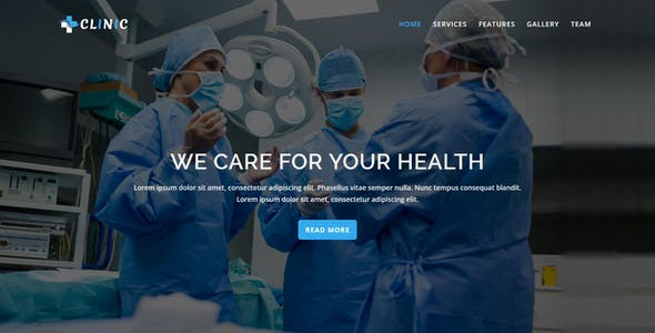 Health - Multipurpose Responsive HTML Landing Pages