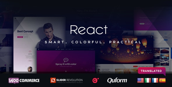 React - Responsive Multi-Purpose WordPress Framework - Miscellaneous WordPress