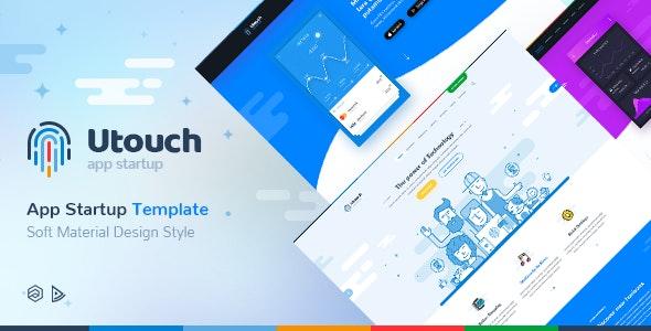 Utouch Startup - Multi-Purpose Business Technology and Digital Marketing Joomla Template - Marketing Corporate