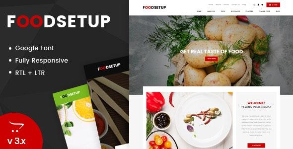 Foodsetup - Multipurpose OpenCart Responsive Theme - OpenCart eCommerce